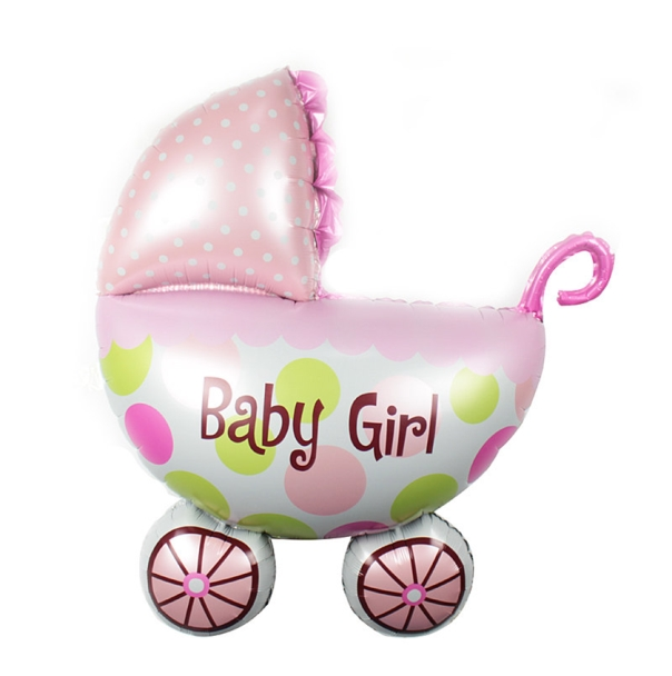 Baby Girl stroller Balloon