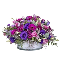 Crystal Flowers arrangement ZER4U