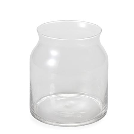 Zer4u Israel Flowers Online Vase A Short Glass Vase Zer4u